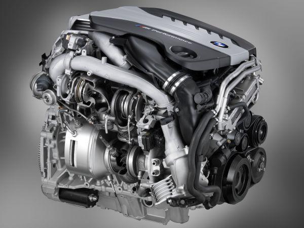 фото дизельный двигатель BMW
