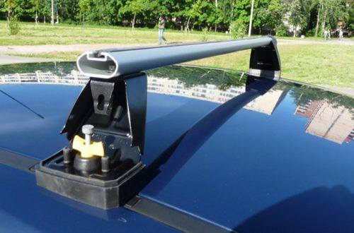 багажника на крышу форд Фокус 2 рестайлинг хэтчбек
