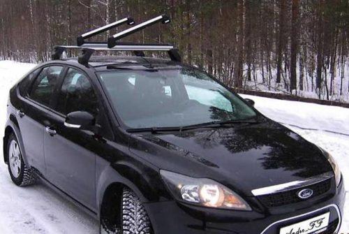 дорогие багажники на крышу форд Фокус 2 рестайлинг хэтчбек