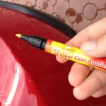Как используется краска карандаш для автомобиля