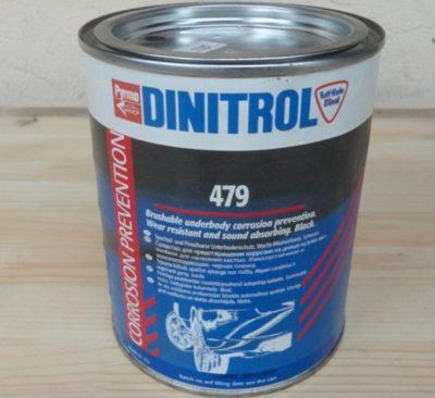 жидкая шумоизоляция автомобиля Dinitrol