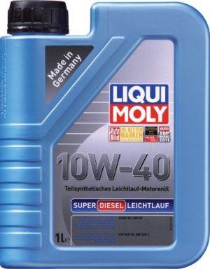 моторные масла для дизельных двигателей с турбонаддувом Liqui Moly