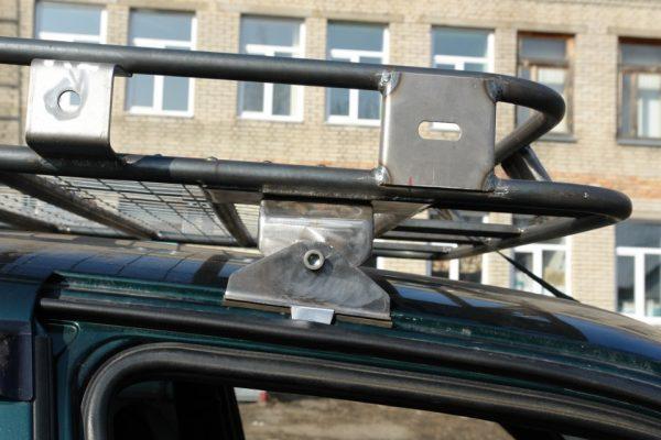 Крепеж багажника на крышу своими руками 98