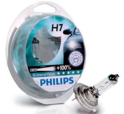 автолампы н7 с увеличенным световым потоком Philips