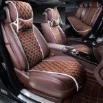 Выбор накидки на кожаные сиденья автомобиля