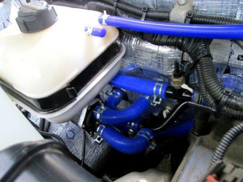 силиконовые патрубки системы охлаждения от Евродеталь
