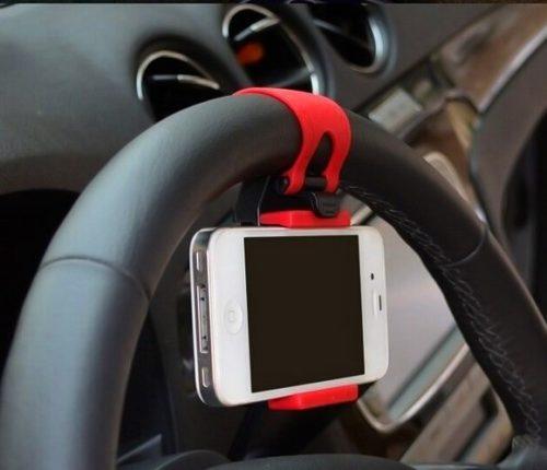 держатель для телефона на руль автомобиля Zex