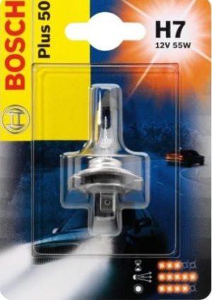 автолампы н7 с увеличенным световым потоком Bosch