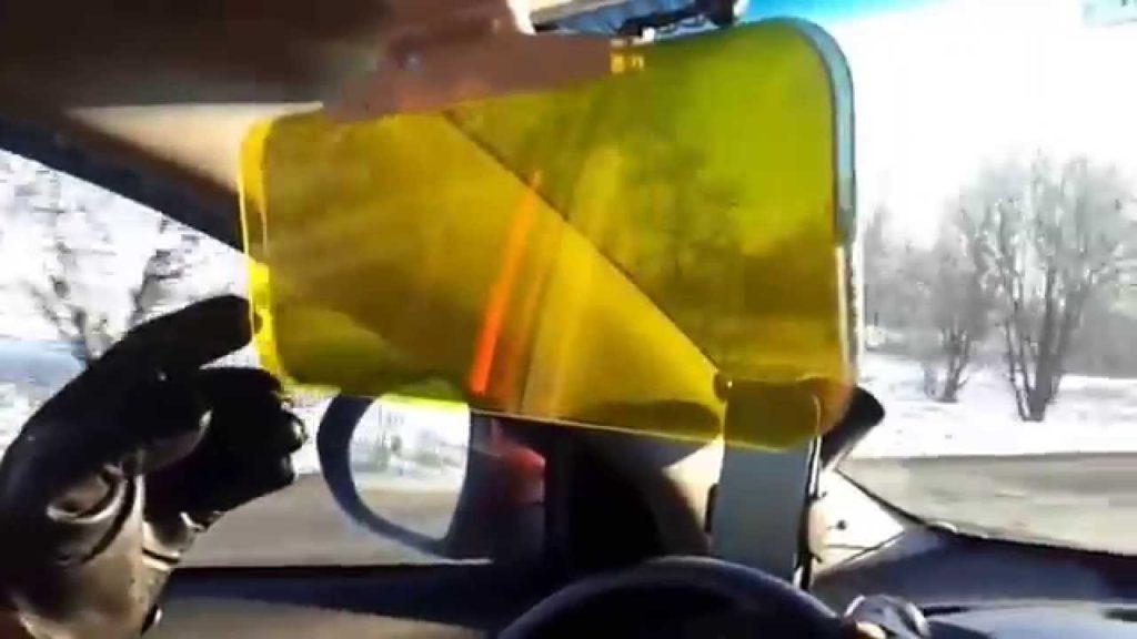 антибликовый козырек на авто Hd vision visor