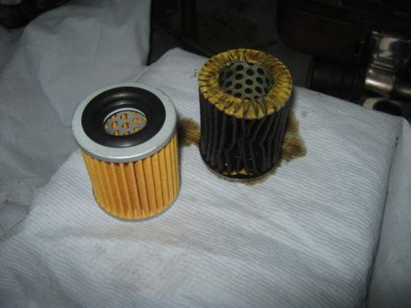 засорение масляного фильтра
